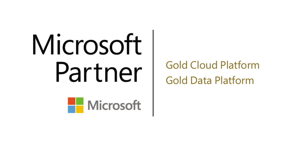MS gold partner cloud + data