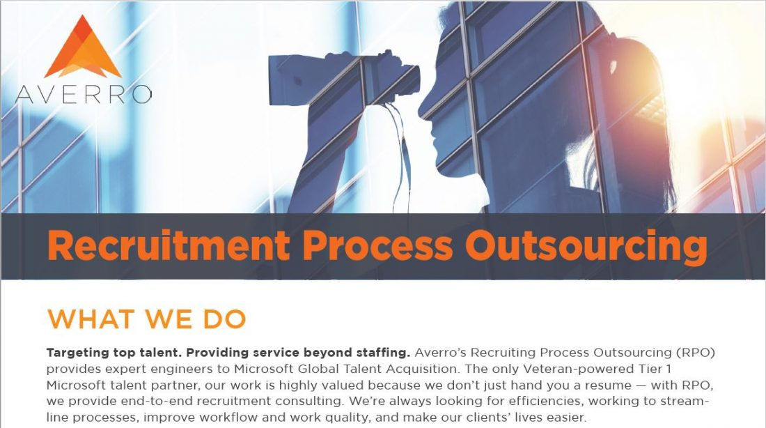 Averro Recruitment Process Outsourcing
